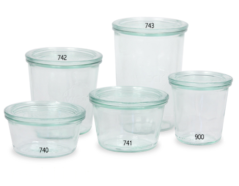 Weck mold jars