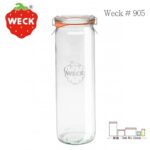 Weck 905 直線造型 Cylindrical shape