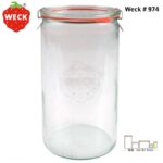 Weck 974 直線造型 Cylindrical shape